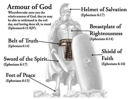 Put On God S Armor In These Perilous Times 171 Hope And
