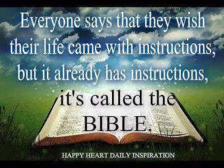 Inspirational B.I.B.L.E Sign BIBLE Basic Instructions Before Leaving Earth